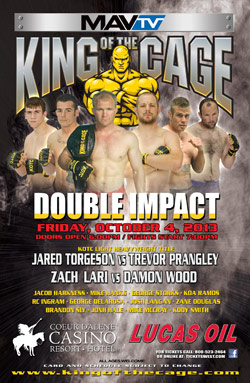 King of the Cage Returns to Coeur D'Alene Casino Resort Hotel