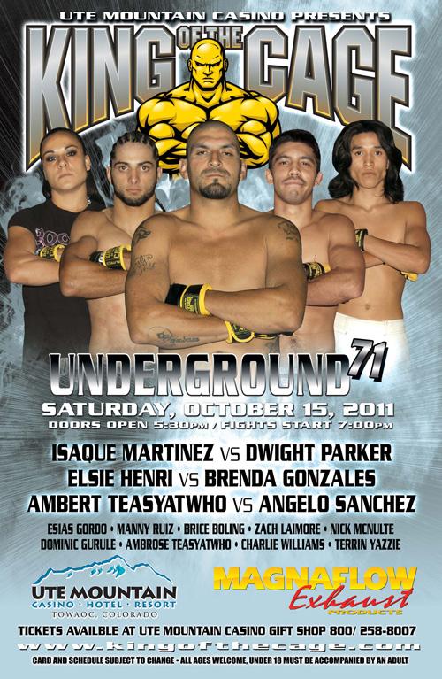 UNDERGROUND 71 Cortez, CO