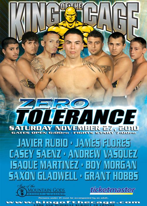 ZERO TOLERANCE Mescalero, NM
