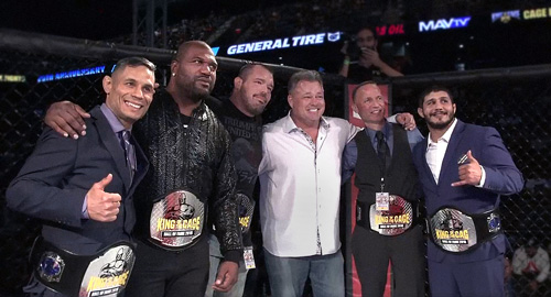 King of the Cage Announces Inaugural Hall of Fame Class of 2018