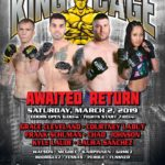"King of the Cage Debuts at North Star Mohican Casino Resort on March 2 with ""AWAITED RETURN"""