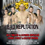 "King of the Cage Returns to Coeur D'Alene Casino Resort Hotel on August 20 for ""BAD REPUTATION"""