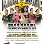 "King of the Cage Returns to Black Bear Casino Resort on November 21 for ""BEAR BRAWL"""