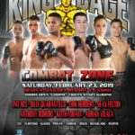 "King of the Cage Returns to Seneca Niagara Resort & Casino on February 23 ""COMBAT ZONE"""