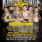 "King of the Cage Returns to the Gold Country Casino & Hotel on March 18 for ""CRUNCH TIME"""