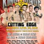 """King of the Cage Presents """"Cutting Edge"""" at The Hotel Cascada in New Mexico on April 25"""