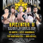 "King of the Cage Returns to WinnaVegas Casino Resort on October 13 for ""EPICENTER II"""