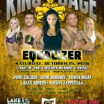 "King of the Cage Returns to Lake of the Torches Resort Casino on October 15 for ""EQUALIZER"""