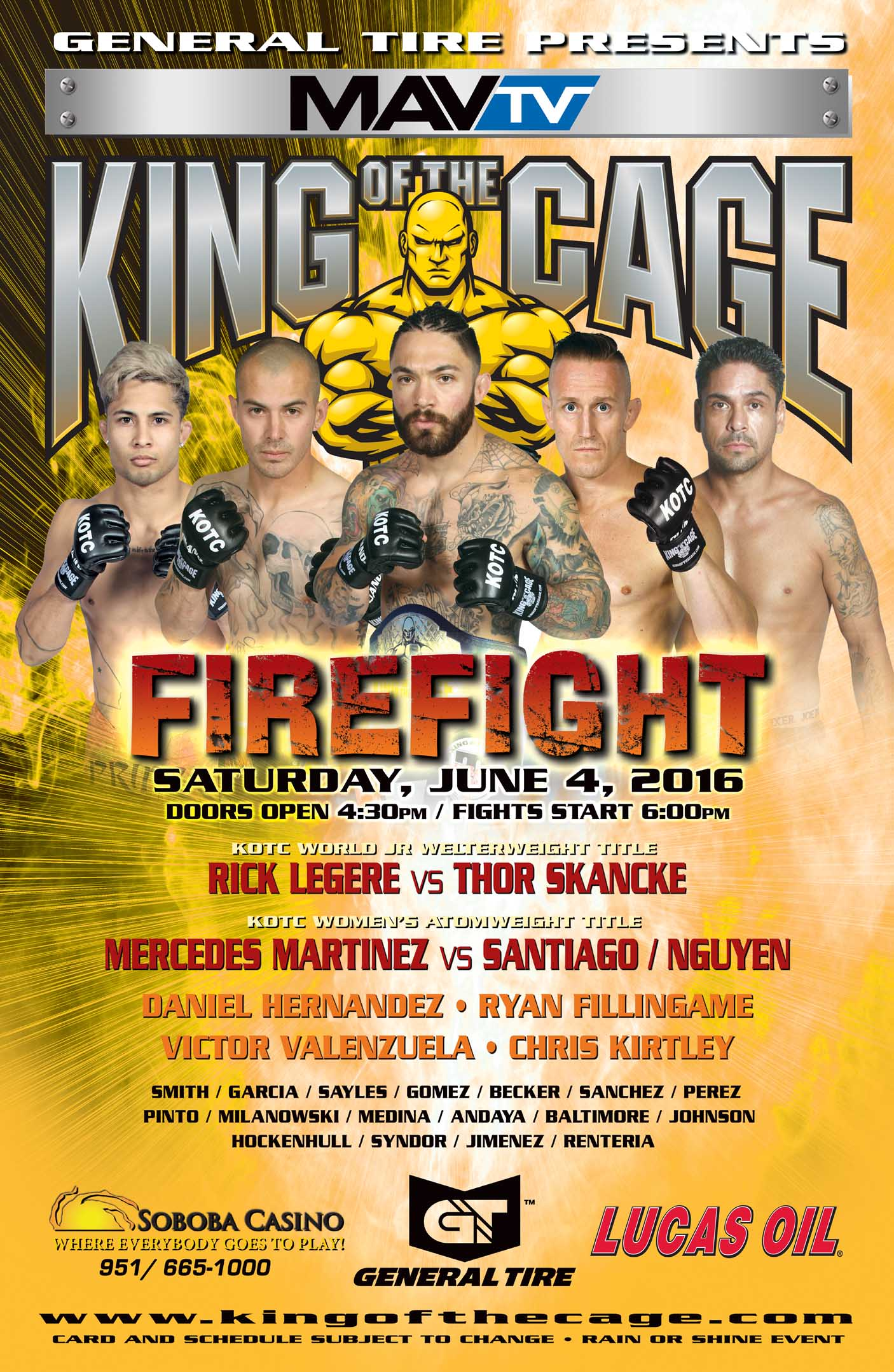 King Of the Cage Underground Warriors Movie HD free download 720p