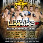 "King of the Cage Returns to Silver Legacy Resort Casino Reno on February 11th for ""FUTURE LEGENDS 34"""