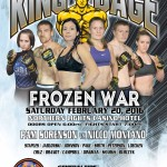 "King of the Cage Returns to Northern Lights Casino on February 20 for ""FROZEN WAR"""