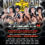 "King of the Cage Returns to Silver Legacy Resort Casino Reno on November 17 for ""FUTURE LEGENDS 42"""