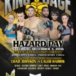 "King of the Cage Returns to Menominee Casino Resort on December 3 for ""HAZARD PAY"""