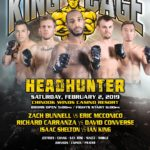 "King of the Cage Returns to Chinook Winds Casino Resort on February 2 for ""HEADHUNTER"""