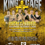 "King of the Cage Returns to Chinook Winds Casino Resort on October 1st for ""HIGH CALIBER"""