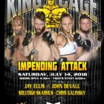 "King of the Cage Returns to WinnaVegas Casino Resort on July 14 for ""IMPENDING ATTACK"""