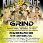 "King of the Cage Presents ""GRIND"" at The Sheraton Uptown in New Mexico on August 15"