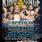 "King of the Cage Announces Fight Card for SugarHouse Casino in Philadelphia October 28 for ""LOCKED IN"""