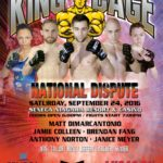 "King of the Cage Returns to Seneca Niagara Resort & Casino on September 24 for ""NATIONAL DISPUTE"""