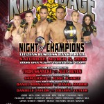 "King of the Cage Returns to Citizens Business Bank Arena with a Live Televised Broadcast ""NIGHT OF CHAMPIONS"" on March 5"
