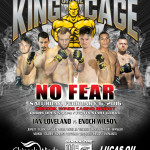 "King of the Cage Returns to Chinook Winds Casino Resort on February 6th for ""NO FEAR"""