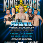 "King of the Cage Debuts at Sky Ute Casino on July 21 for ""PERENNIAL"""