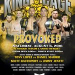 "King of the Cage Returns to Chinook Winds Casino Resort on August 6th for ""PROVOKED"""
