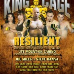 "King of the Cage Returns to the Ute Mountain Casino, Hotel & Resort on May 14 for ""RESILIENT"""