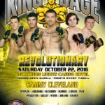 "King of the Cage Returns to Northern Lights Casino on October 22 for ""REVOLUTIONARY"""