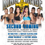 "King of the Cage Returns to Yack Arena on August 5 for ""SECOND COMING"""