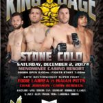 "King of the Cage Announces Main Event for Menominee Casino on December 2 for ""STONE COLD"""