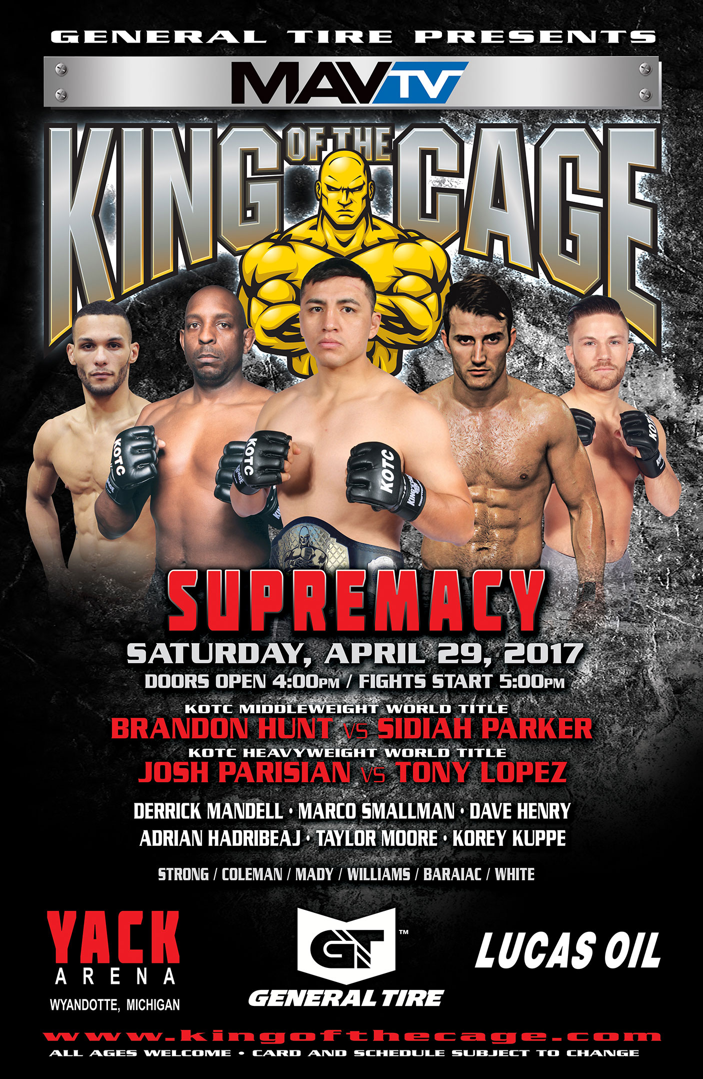 Supremacy | King of the Cage