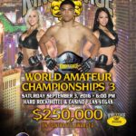 WORLD AMATEUR CHAMPIONSHIPS 3 Las Vegas, NV