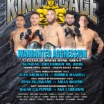 "King of the Cage Returns to Citizens Business Bank Arena on December 18–""WARRANTED AGGRESSION"""
