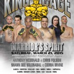 "King of the Cage Debuts at Chinook Winds Casino Resort on March 21st for ""Warrior's Spirit"""